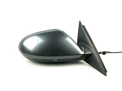 Audi A6 C7 Front Right Side Exterior Wing Mirror RHD 6-PIN • 118.78£