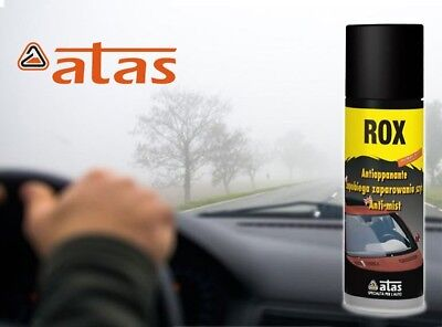 Anti Mistfog Spray Demister For Car Windscreens & Visors Made In Italy By ATAS • 6.97£