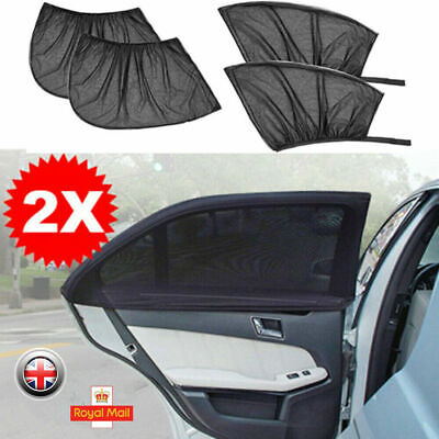 2X Universal Car Sun Mesh Blind Rear Window UV Protector Sun Shade For Baby Kids • 5.55£
