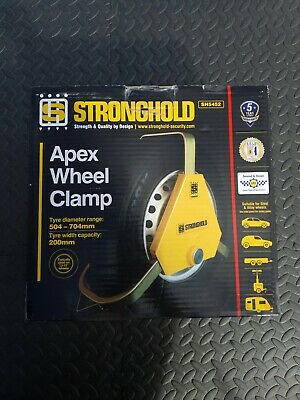 Stronghold Apex Wheel Clamp • 120£