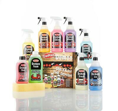 CarPlan Ultimate Demon Shine Complete Car Cleaning Valeting Gift Pack • 35.99£