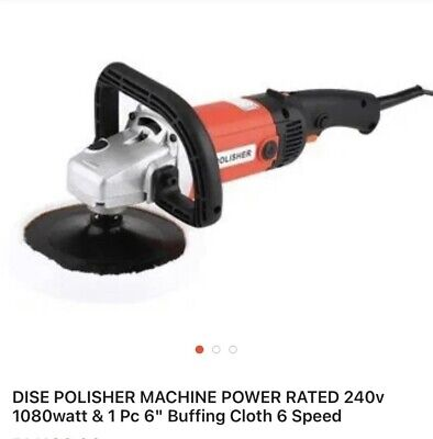 Car Polisher Machine With Carry Case • 25£