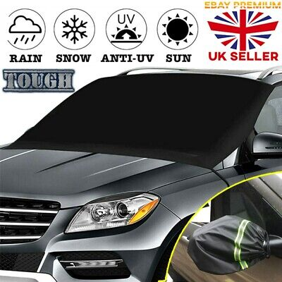 Car Windscreen Cover Sun Shade Frost Snow Ice Screen Protector Mirror Shield • 8.83£
