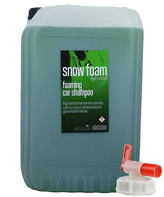 Snow Foam Wash - Apple Scented 25L Litre / Valeting / Car Shampoo With Drum Tap • 28.16£