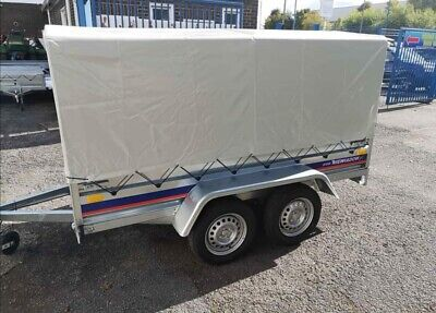 New Trailer Twin Axles 9x5 FT 750kg • 1,095£