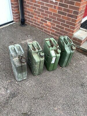 20 Litre Metal Jerry Can • 9.80£