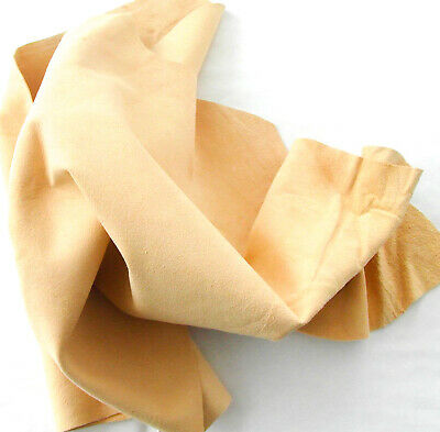 4 Sq Ft Genuine Chamois Leather Best Quality Car Cloth Tanned Sheepskin Large • 7.99£