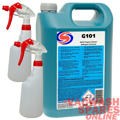 Autosmart G101 All Multi Purpose Cleaner 5 Litre - Non-caustic Cleaner - Trade • 29.95£