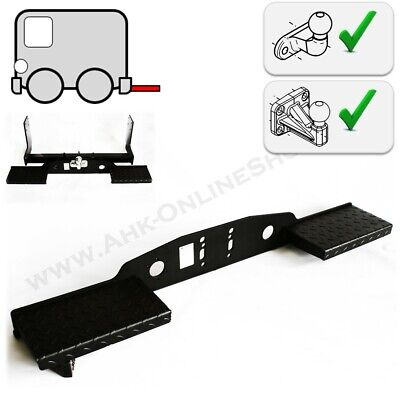 Universal Towstep Towbar Mounted Twin Rear Step For 2 Or 4 Hole Tow Ball Double • 109.99£