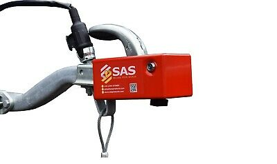 Sas Hl2 Hitch Lock For Unbraked Trailer Pressed Steel Hitch Insurance Approved • 82.99£