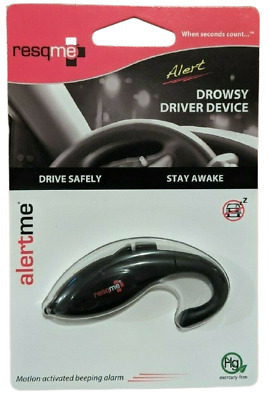Resqme Drowsy Driver Device Stay Awake Alert Driving Safety Free UK Postage • 8.94£