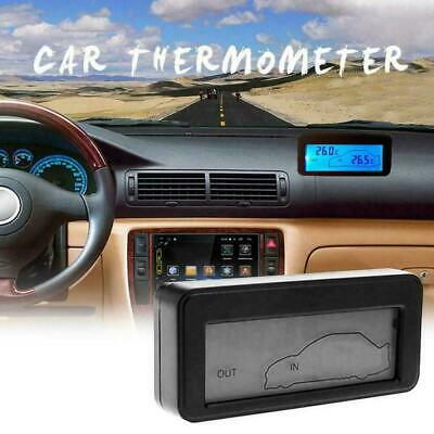 Car Thermometer Digital LCD Thermometer Auto Temperature Gauge Meter Q6L5 • 5.39£