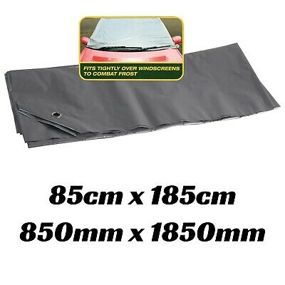 1x Car Windscreen Cover Protection Frost Or Sun Window Protect Cool Suction Pads • 1.99£