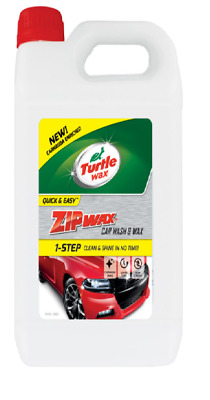 Turtle Wax Zip Wax Car Shampoo Concentrate Wash Clean Shine 60 Washes 1 Litre • 6.99£