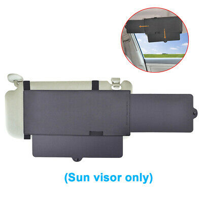 Car Shade Sun Extend Visor Shield Protectable Extension Driving Window Sunscreen • 9.59£