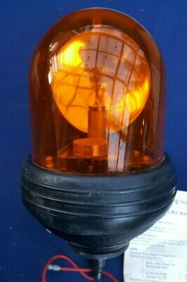 Vintage BL3 Lucas Orange/Amber Rotating Light 12v Beacon Recovery/Landrover  • 200£