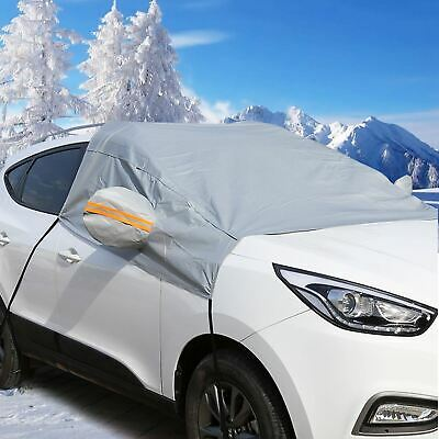 Car Windscreen Mirror Shield Frost Snow Cover Windshield Protector Ice Universal • 12.99£