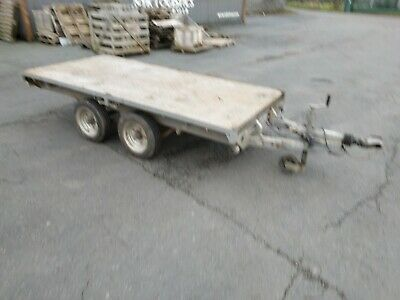 Ifor Williams LM 10 Flatbed Trailer.  • 1,150£