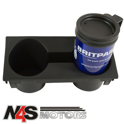 Land Rover Defender Cubby Box Double Cup Holder. Part Fwj500020pma • 13.60£