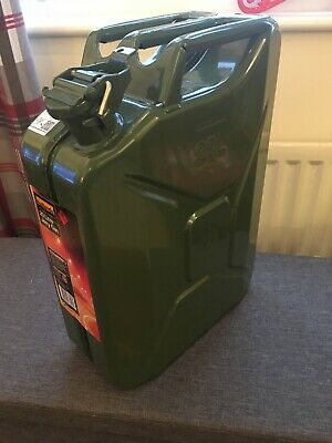 20L Halfords Steel Jerry Can Nearly New • 8.70£
