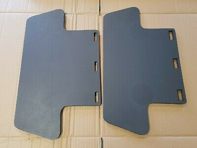 Peugeot  3008/ 3005  Rear Foot  Well Storage Covers Sold As A Pair Dark Gray   • 22£