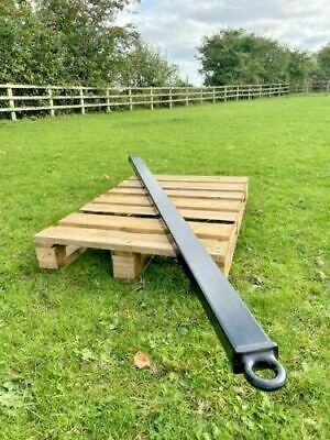 HEAVY DUTY 9.6TON HGV Truck Towing Bar 2METRE Tow Pole Tractor Bus Military Nato • 129.99£