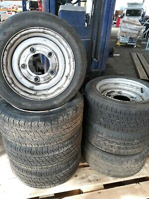 195 50 R13c Wheel And Tyre 6.5 PCD Ifor William's Indespension. • 25£