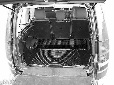 Boot Liner Load Mat Land Rover Discovery 3 III 2004-09 Anti Slip Natural Rubber • 35£