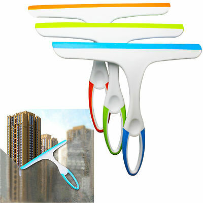 NEW Handheld Window Cleaner Wiper Squeegee For Car Glass Shower Screen Tiles W4 • 5.99£