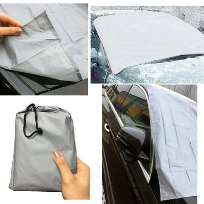 Magnetic Windscreen Cover Car Sheild Ice Frost Snow Sun Rain Screen Protection • 4.75£