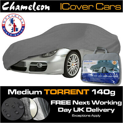 Medium Car Cover 100% Waterproof, UV Protection, Heavy Duty, Double Stitched  • 35£