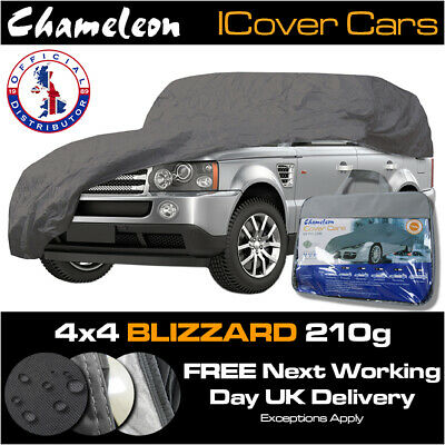 4X4 Waterproof Car Cover 4x4 People Carrier, MPV, Estate, UV Protection 210GSM • 33£