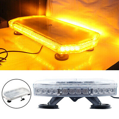 56 Led Recovery Light Bar 600mm 12/24v Flashing Beacon Truck Light Strobes Amber • 55.99£