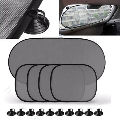 5PCS Car Window Sun Shade Screen UV Visor Protector Sunshade Rear Blind Back • 6.16£