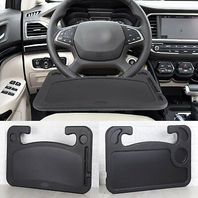 Steering Wheel Car Table Tray Laptop Food Dining Reading Writing Stand Holder  • 12.69£
