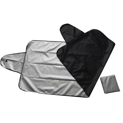 WINDSCREEN COVER Car Window Screen Frost Ice Large Snow Dust Protector Visor See • 4.88£