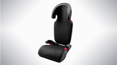 Genuine Volvo Booster Seat / Cushion + Backrest -  Leather And Nubuck Textile  • 249.99£