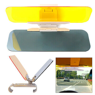 Car Sun Visor Day Night Anti Glare Driving HD Vision Glasses Goggles Extender • 7.69£