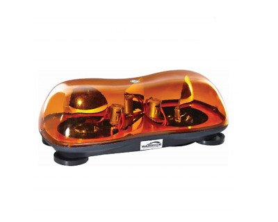 12v HALOGEN MAGNETIC TWIN BEACON LIGHT BAR, VAN,TRACTOR TRUCK... BARGAIN PRICE ! • 24.99£