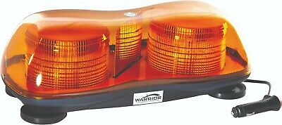 Led 12/24v Magnetic Twin Beacon Amber Light Bar - Cheapest On Ebay ! • 29.99£