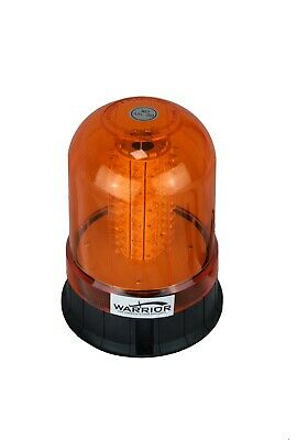 LED Magnetic Mount Tractor Digger Amber Beacon 12/24V -QUANTITY DISCOUNTS !  • 12.99£