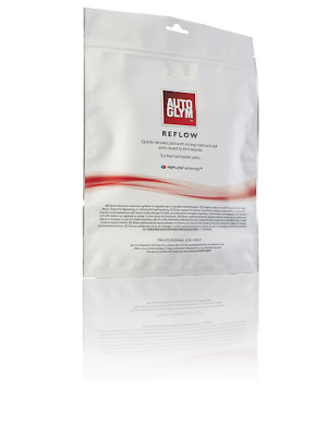 NEW Autoglym REFLOW Bird Dropping Paint Damage Stain THERMAL TRASFER WIPES X5 • 42.50£