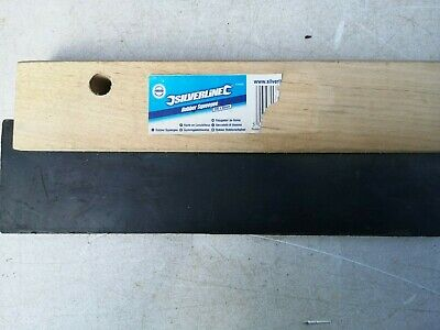 Wooden/Rubber Squeegee 200 X 50 Mm Building/Grouting/FloorTiles Wall Tiles Etc • 4.75£
