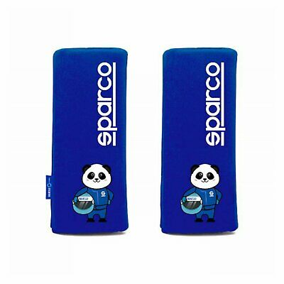 Italy Sparco Shoulder Pads Panda Mini Blue • 10.10£