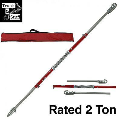 Sprung Tow Bar Recovery Towing 2 Ton Tonnes Spring Damped Tow Bar • 35.49£