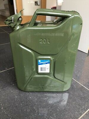 Silverline Jerry Can Olive 20 LTR • 15£