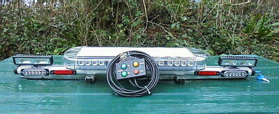 1M  AMBER  40w LIGHTBAR C/W WORKLIGHTS REAR AMBER LEDS & MARKER LIGHTS  • 159.99£