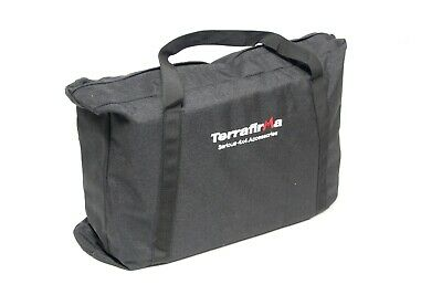 Terrafirma BLACK WINCHING & RECOVERY KIT BAG TF3315 Land Rover Defender Offroad • 31.50£