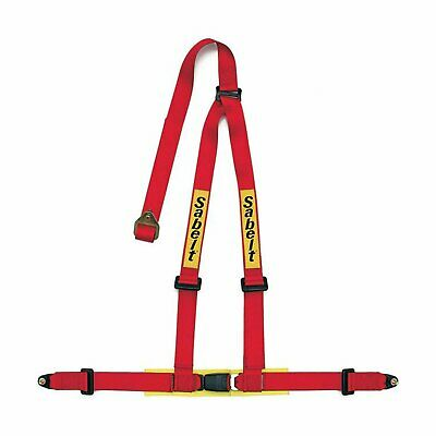 Genuine Sabelt 3 - Point 2  Safety Belts Red • 94.10£