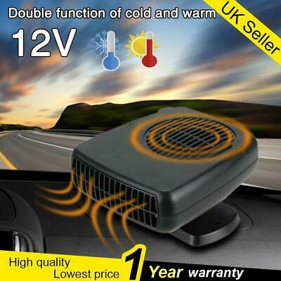 12V 200W Car Heater Dryer Plugin 2 In 1 Heater Cooler Fan Portable Demister UK【】 • 10.43£
